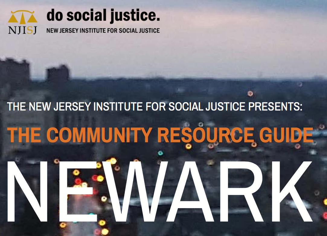 THE COMMUNITY RESOURCE GUIDE: NEWARK